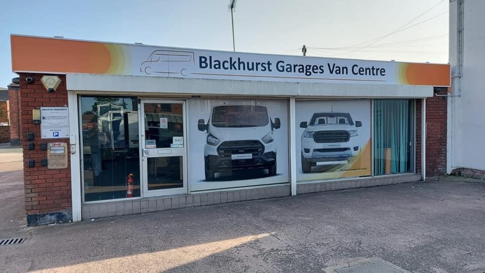 Blackhurst Garages Van Centre
