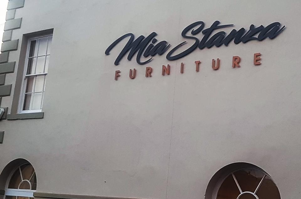 Mia Stanza Furniture Sign